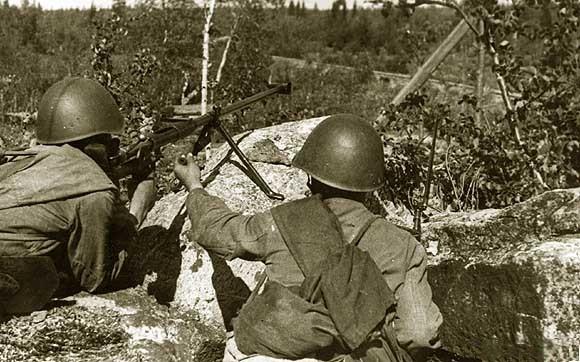 soldats soviétiques 186th%20rifle%20div%20Karelian%20front%201942