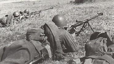 soldats soviétiques PTRD